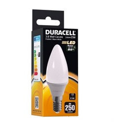Duracell - Duracell C73 E14 İnce Duy 3.8Watt Led Ampul
