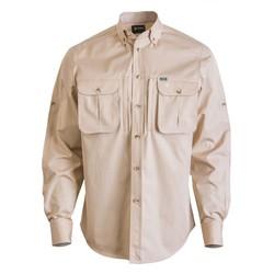 20 - Yaban Gabardin Gömlek Bej
